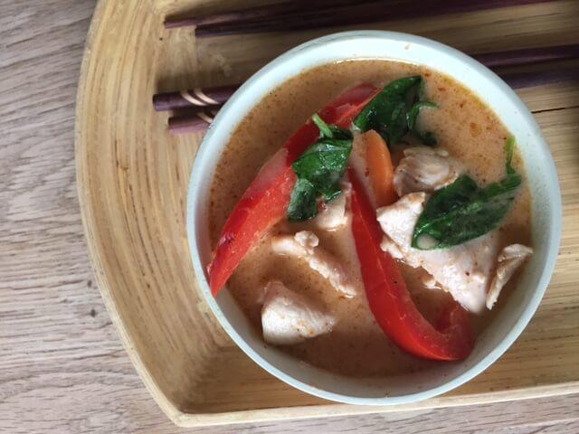 Nem thai kylling suppe