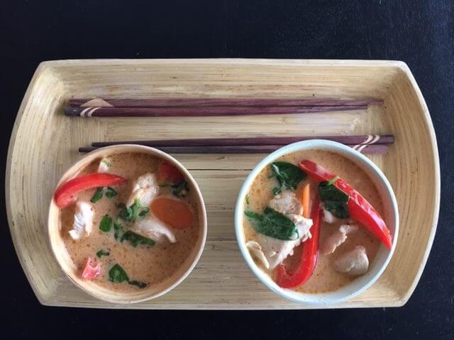 Hurtig thai Kyllingsuppe