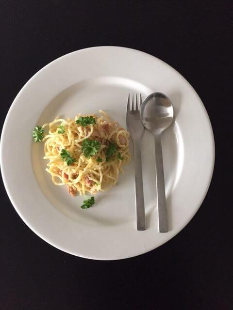 Nem spaghetti Cabonara