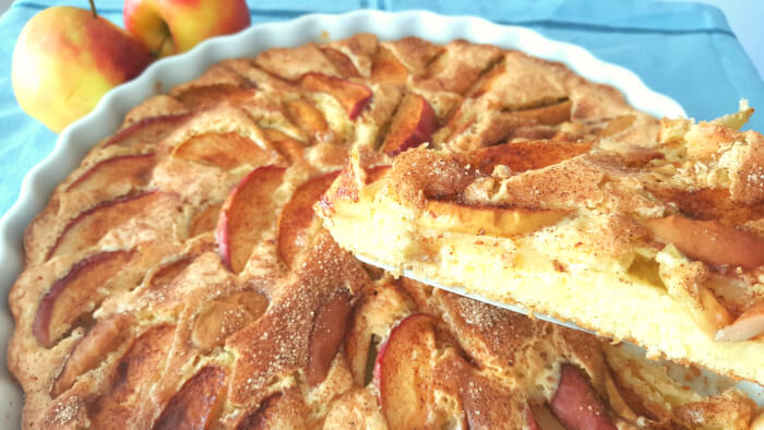 verdens bedste æbletærte