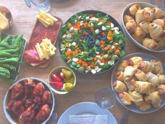 Frokost anretning til store og små