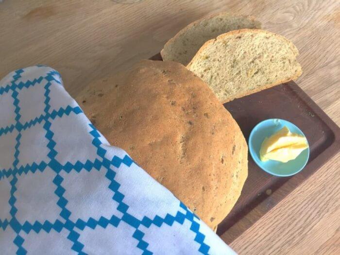 Brød med ramsløg