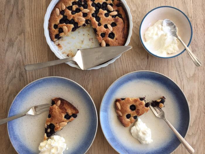blåbærtærte