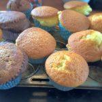 Nem grundopskrift på vanillemuffins