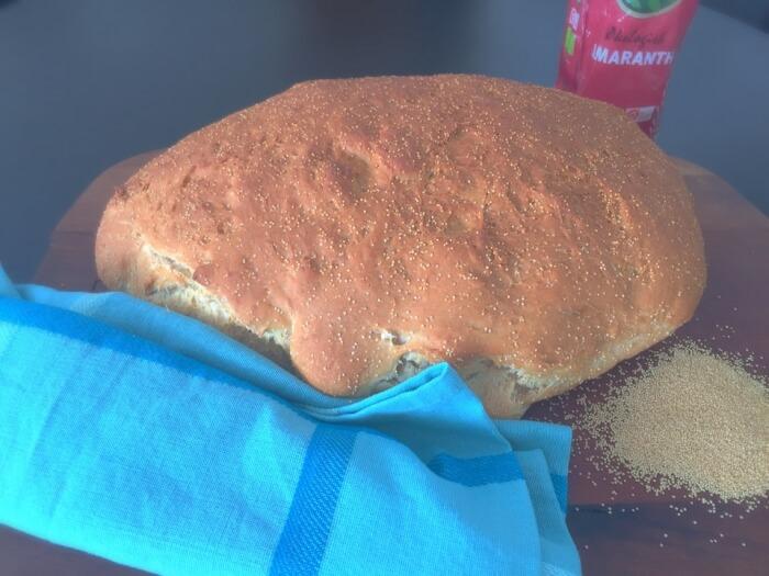 brød med amaranth