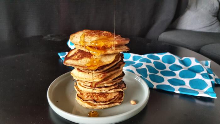 De bedste pandekager- sunde og saftige