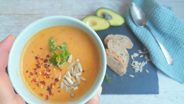 Suppe med linser og søde kartofler- den nemme!
