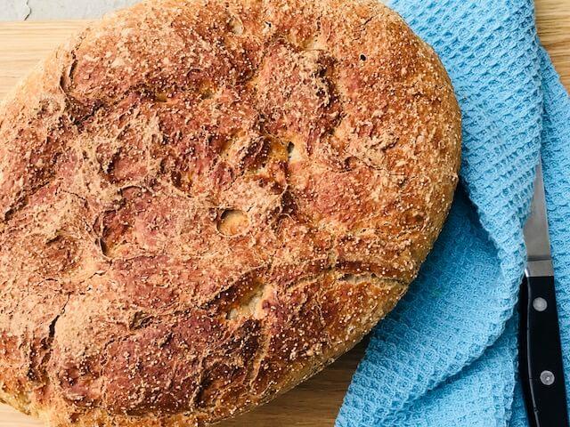 grydebrød med amaranth