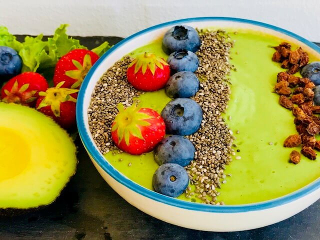 smoothie med grønkål