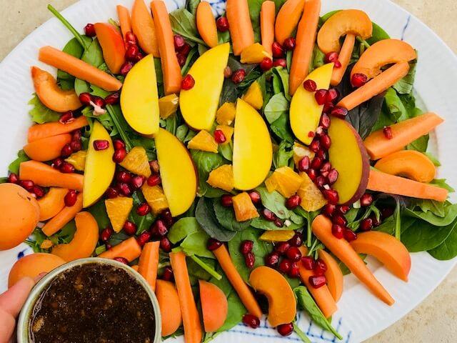orange salat