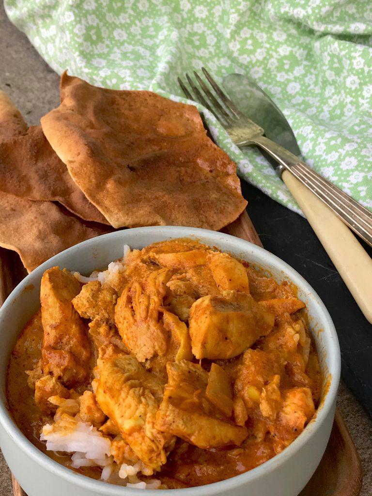 Tikka chicken masala