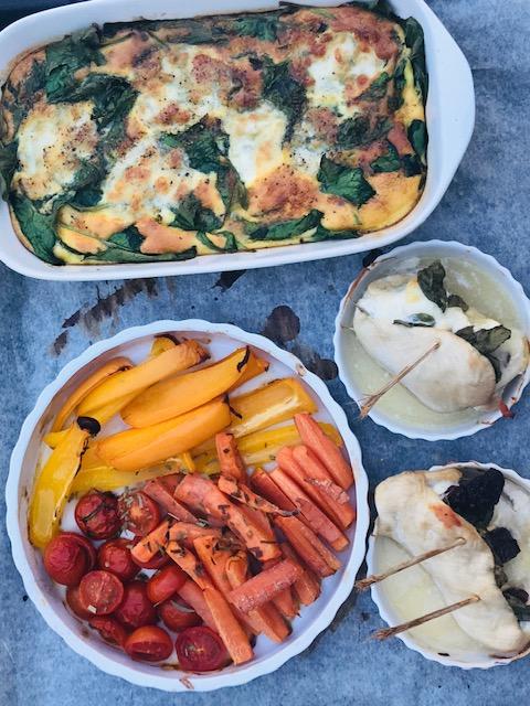 mad der passer sig selv i ovnen