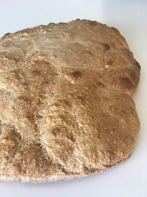 brød med Manitoba mel