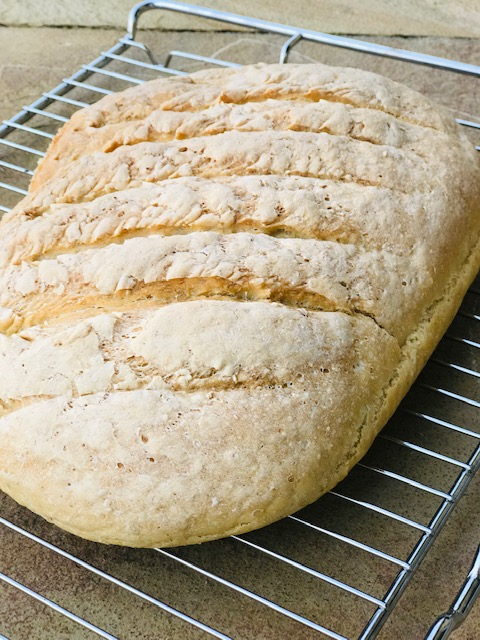 opskrift på groft brød med havregryn