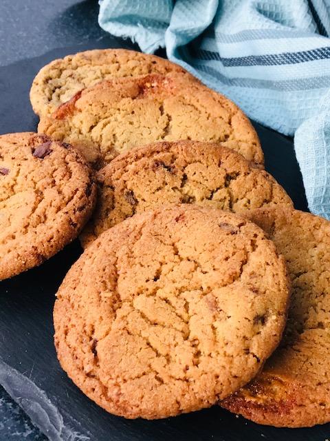 De bedste cookies med chokoladestykker