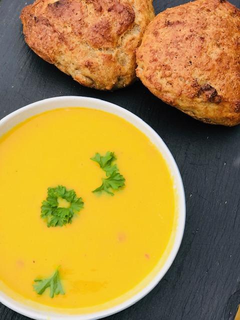 Skøn gulerodssuppe