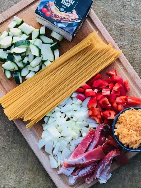 One pot pasta med mornay