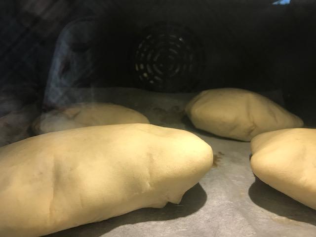 luftige pitabrød