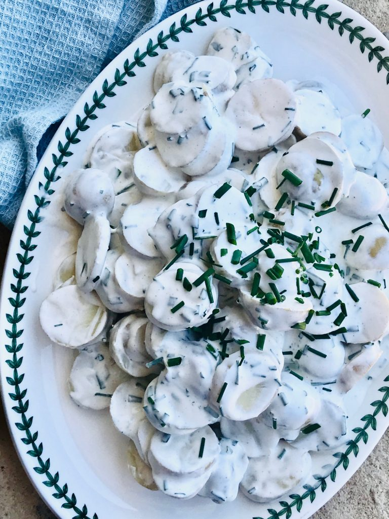 fedtfattig kartoffelsalat