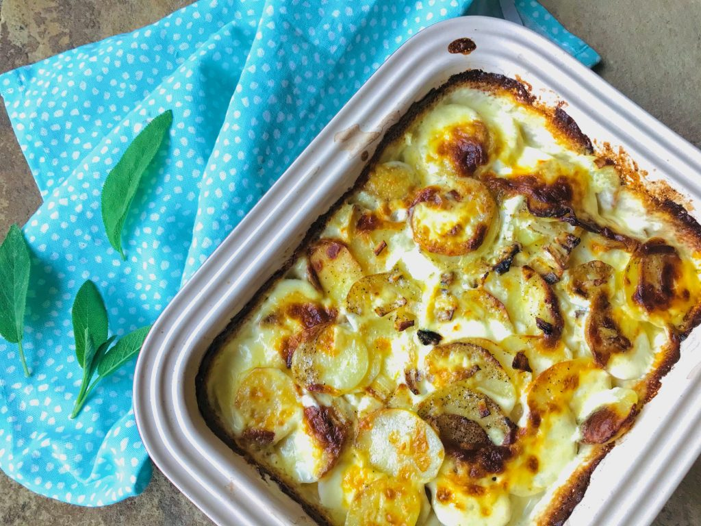 Flødekartofler i ovn
