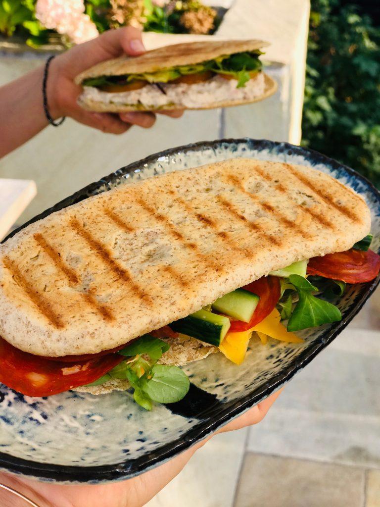 Panini brød- som sprøde brød fra Joe and the juice