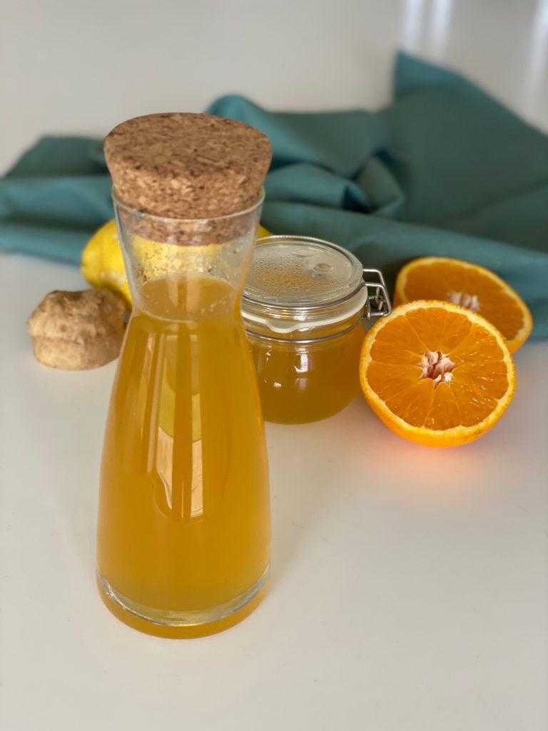 Læskende citrus limonade