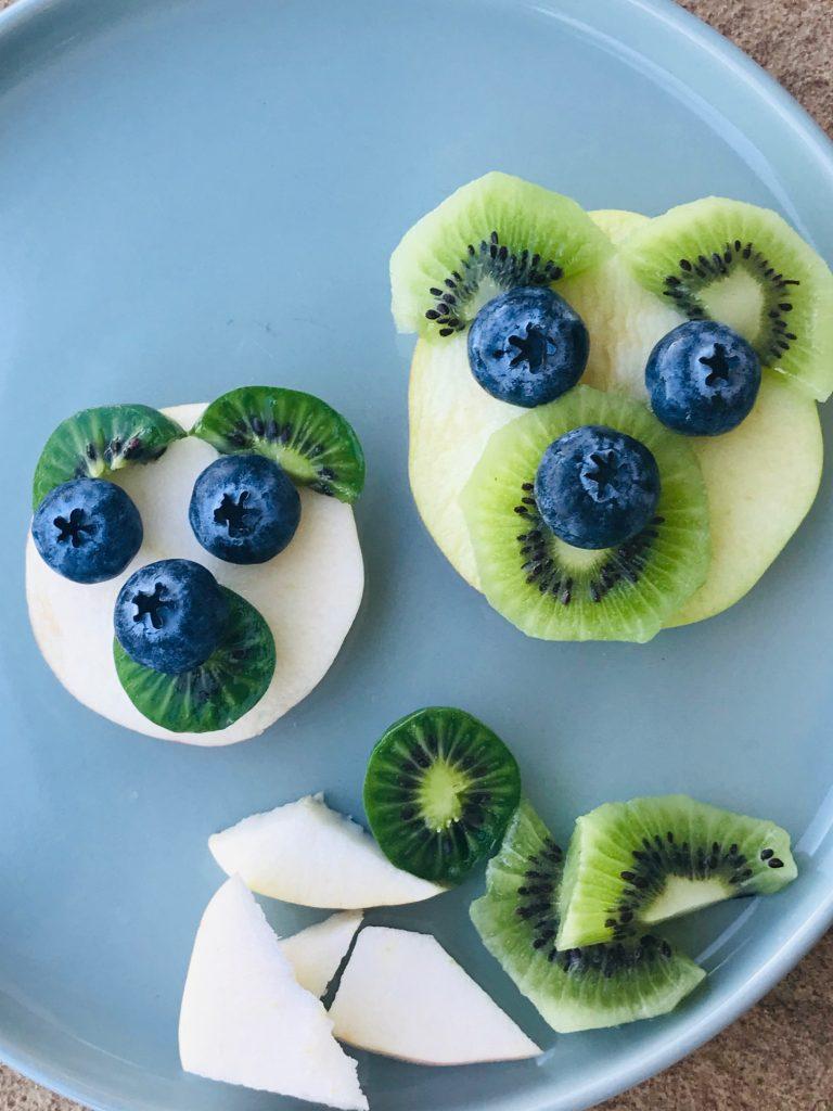 sjov frugt til børn