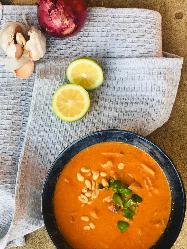 Suppe med kokosmælk