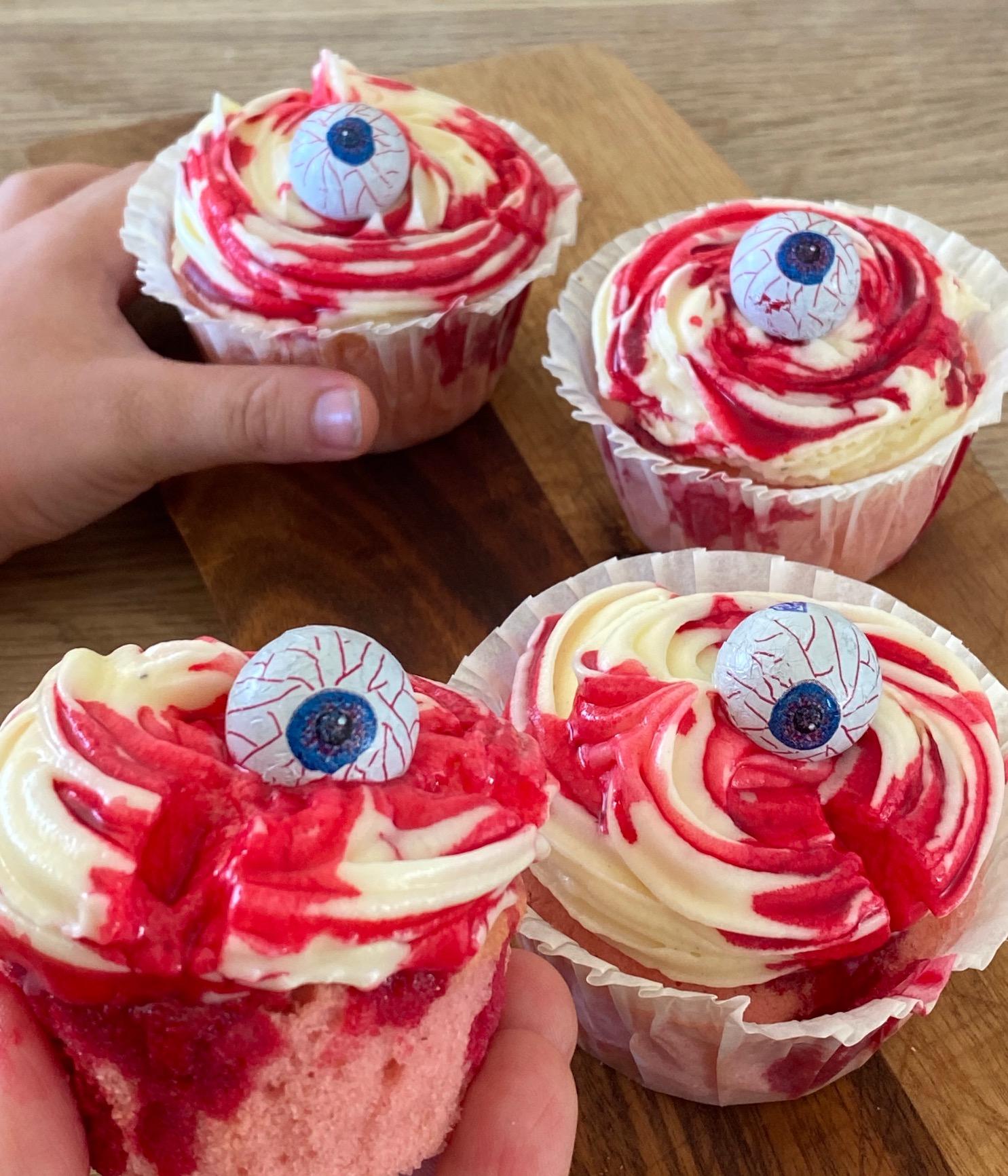 (U)hyggelige halloween muffins