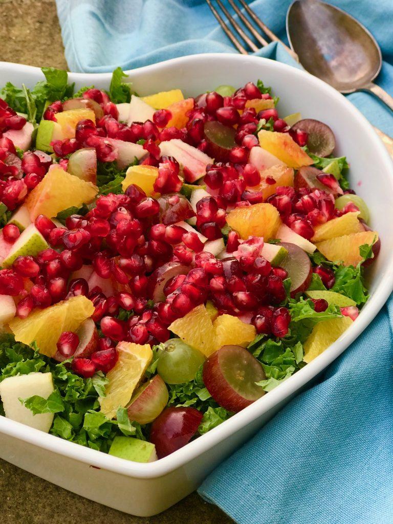 Vinter salat med grønkål