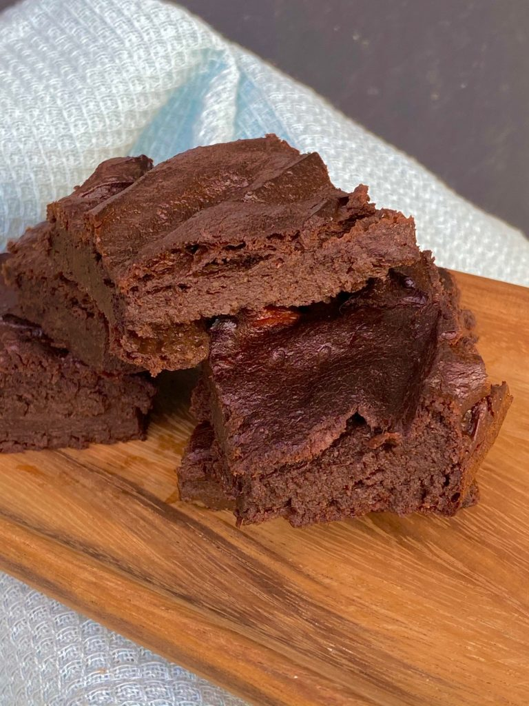 Sund avocado brownies