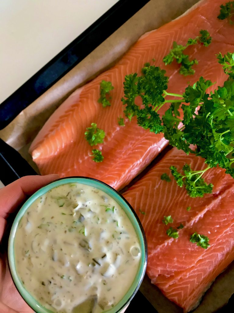 Tatarsauce til fisk og kød