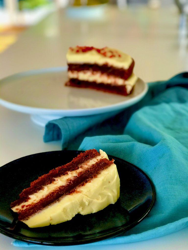 Red velvet kage