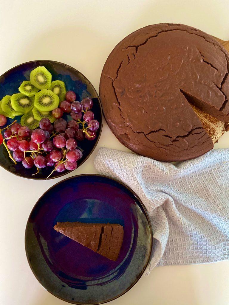 Chokoladekage med kikærter