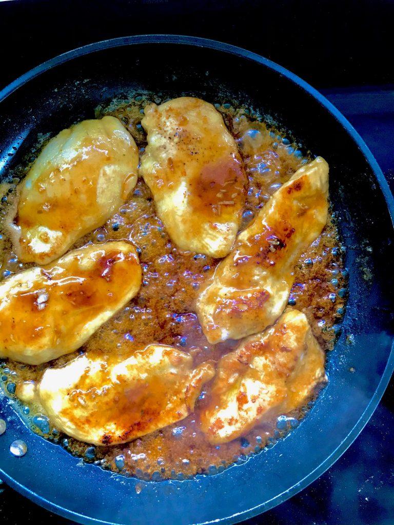 Kylling i honning- soyasauce