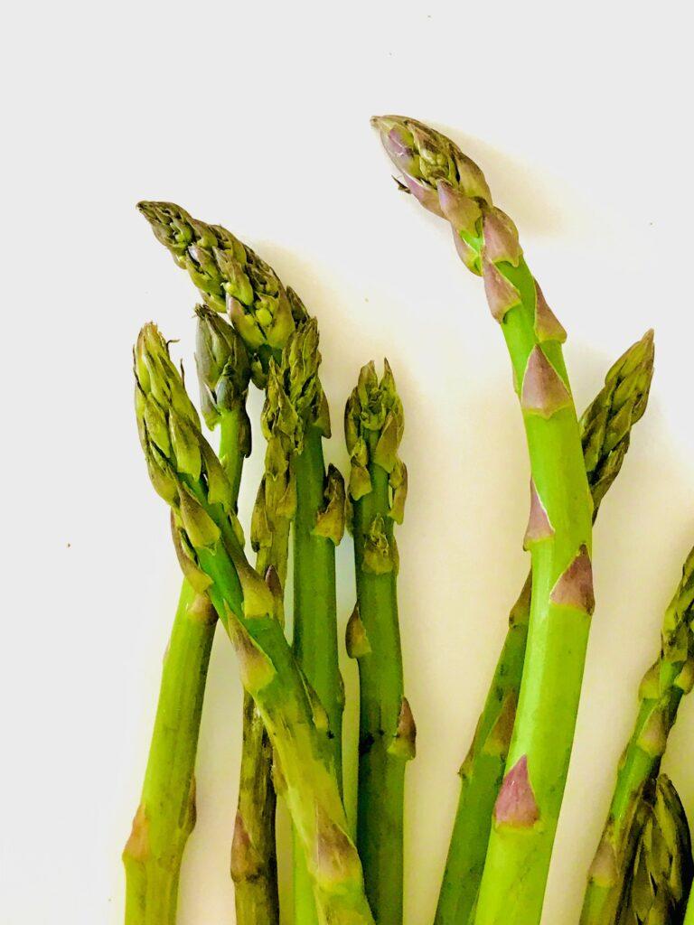 Tilberedning af asparges