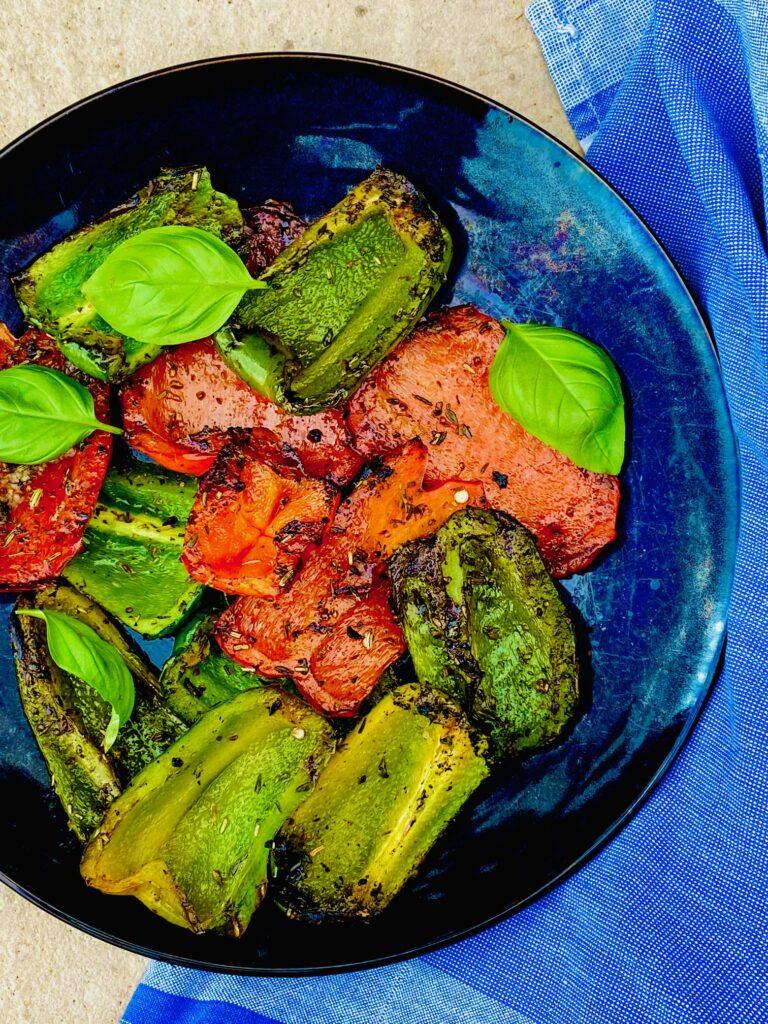 Grillede peberfrugter
