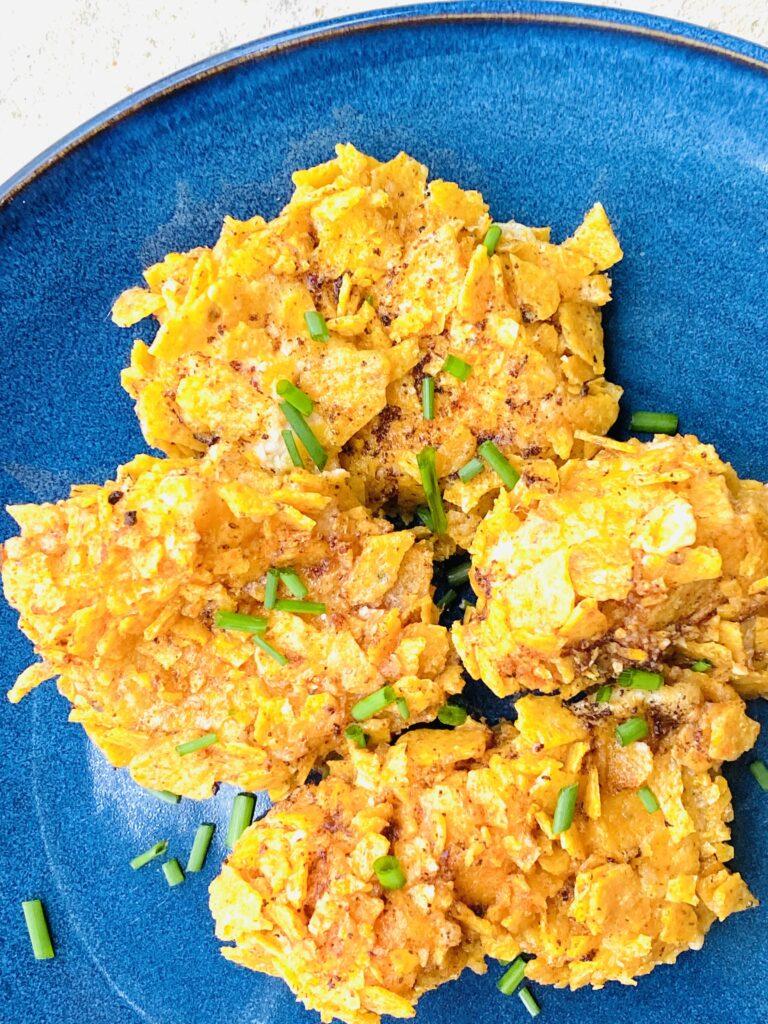 Kylling med nachos panering