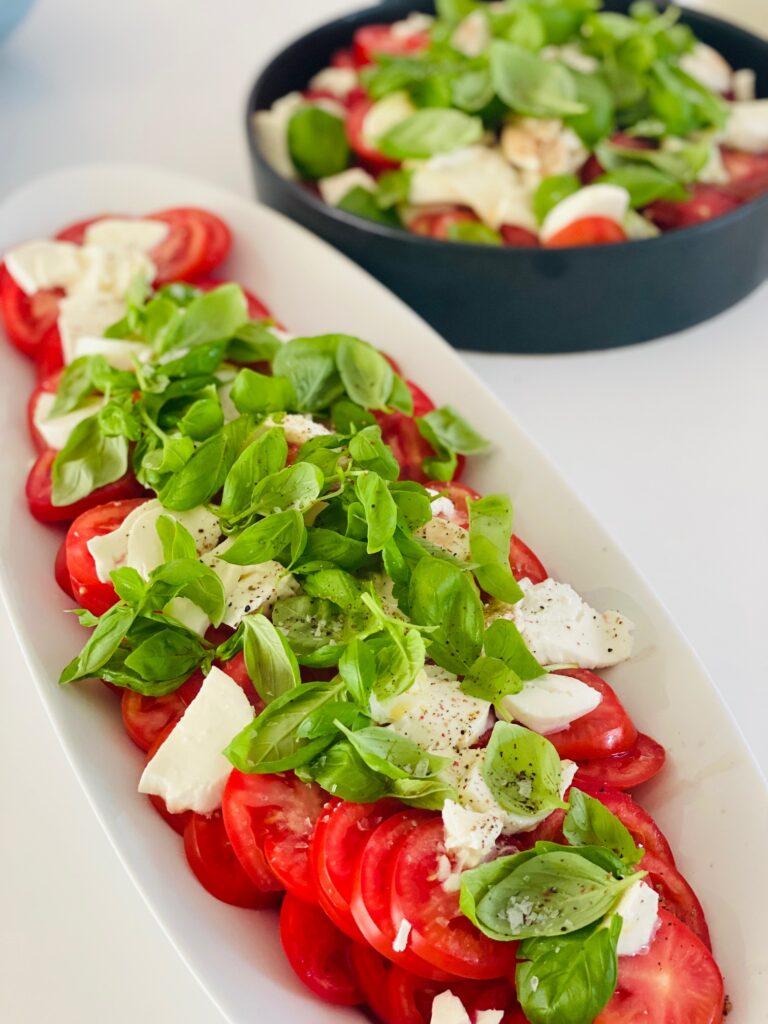 Tomatsalat med mozarella