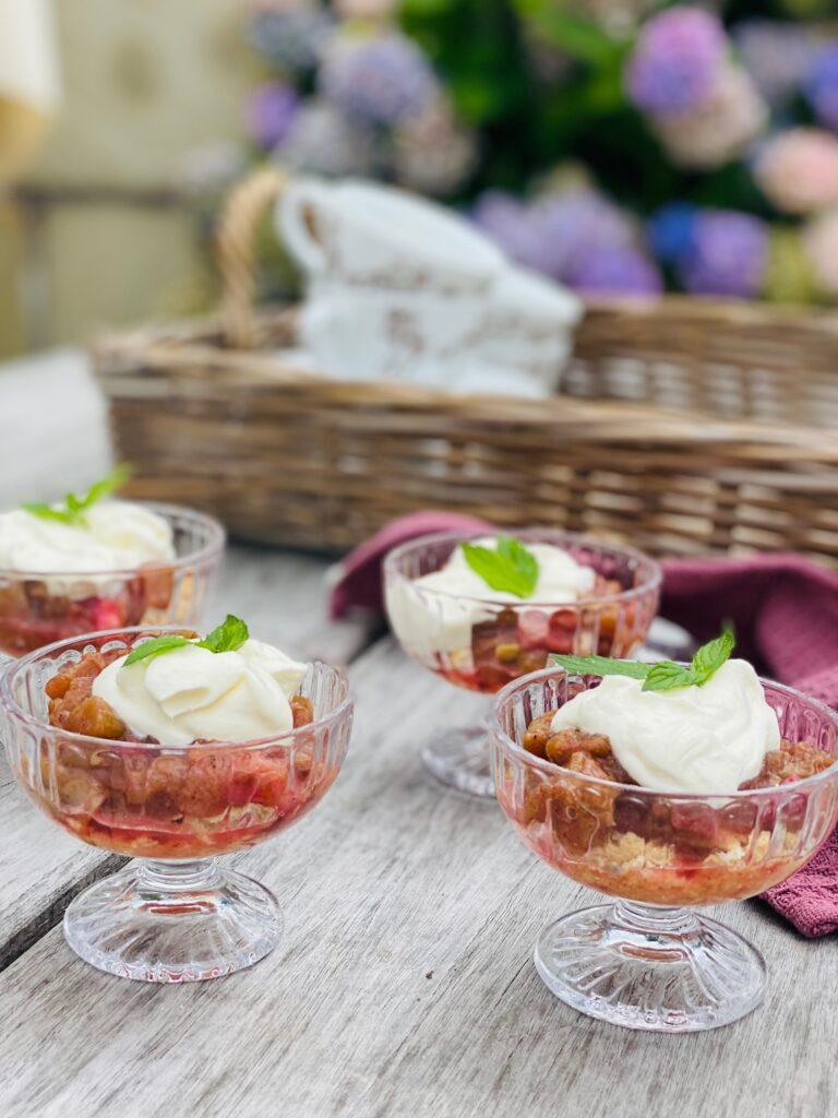 Rabarber dessert