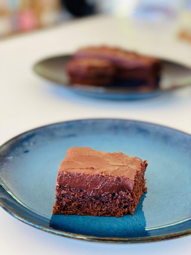 Chokoladekage med olie – nem