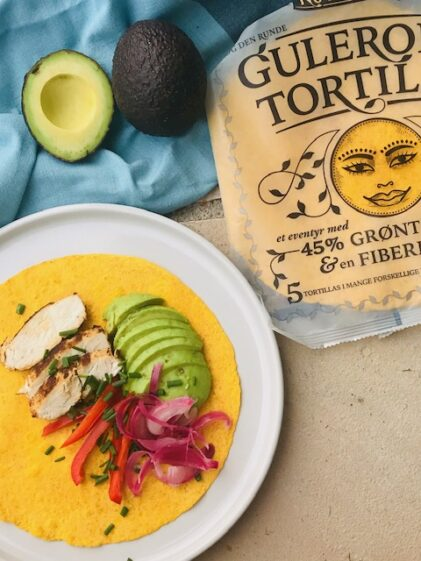 Tortillas(fra no fairytales) med fyld