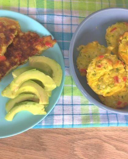 æggemuffins med squash