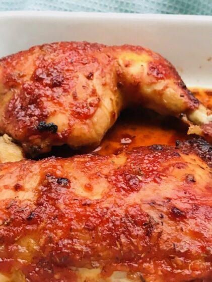 Den skønneste barbecue scrub/marinade til kylling