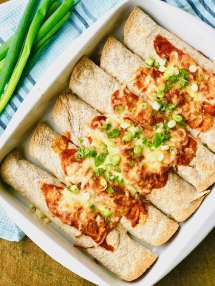 Enchiladas med kylling – den bedste opskrift