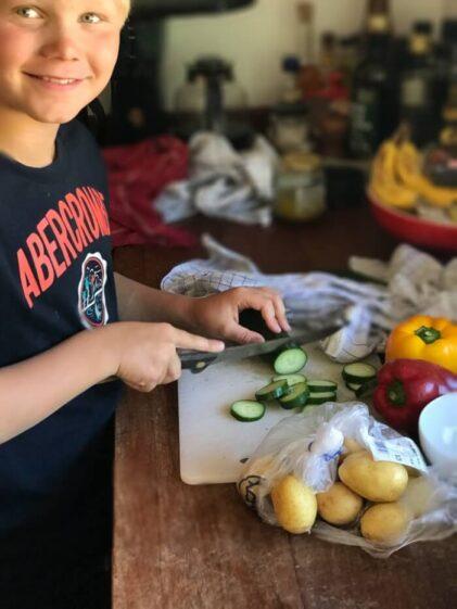 krebinetter(eller karbonader) med revet squash