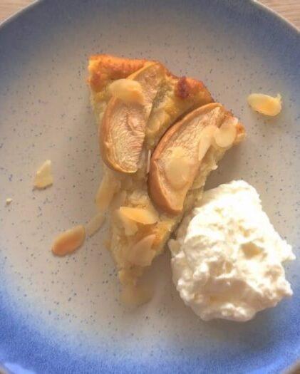 sukkerfri æblekage- lchf