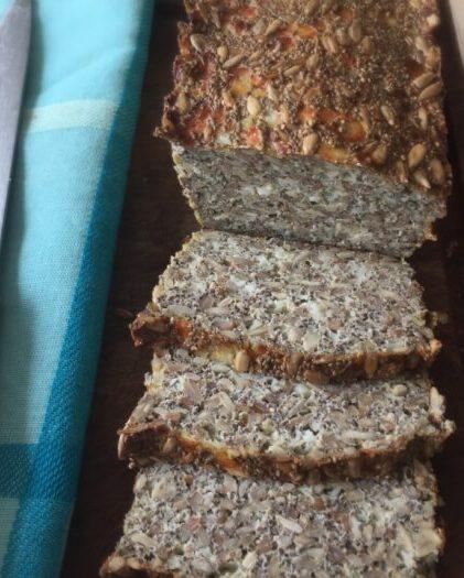 Lækkert glutenfri rugbrød- med perlerug