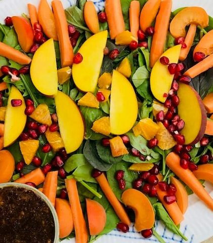 orange-amok salat!