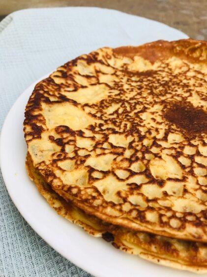 pandekager med soyamælk